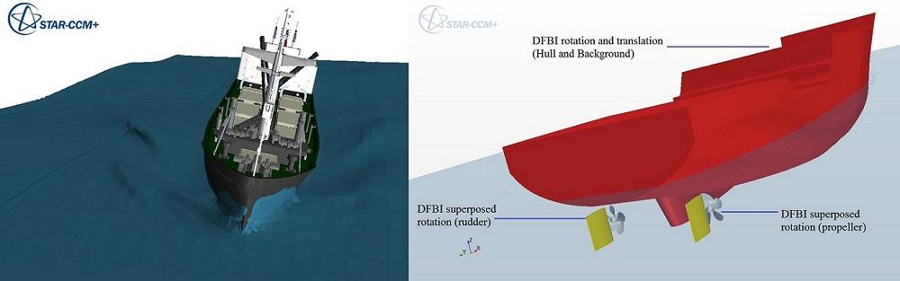 انواع روش های DFBI در دینامیک سیالات محاسباتی و حرکت بدنه صلب