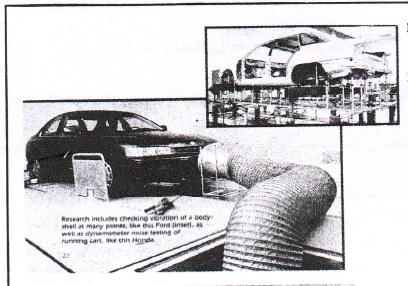 پروژه آماده: روش کاهش صدا و نویز در خودرو و بررسی آن مطابق استاندارهای طراحی - 128 صفحه