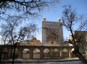 دستور زبان فضا، در معماری مساجد مجموعه آرامگاهی جام  word