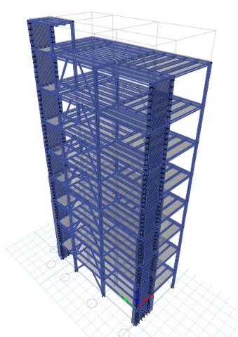 پروژه سازه های فولادی 1