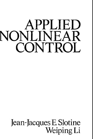 Applied Nonlinear Control_Slotine