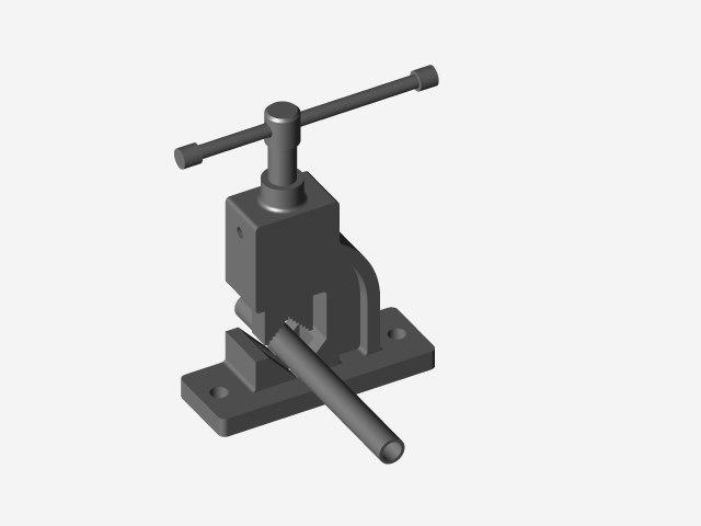 مدل سه بعدی Pipe Cuter