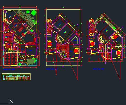 دانلود پلان معماری و نقشه ساختمان مسکونی