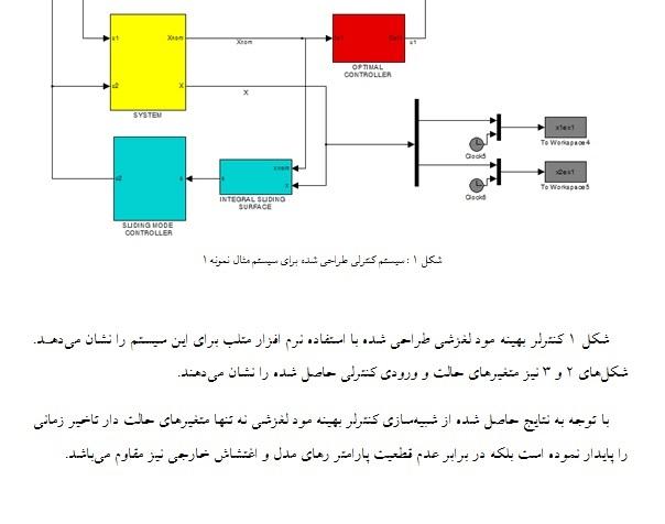 پروژه کنترل مود لغزشی