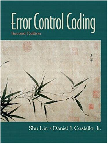 کتاب و حل المسائل درس تئوری کدینگ نوشته Lin Costello