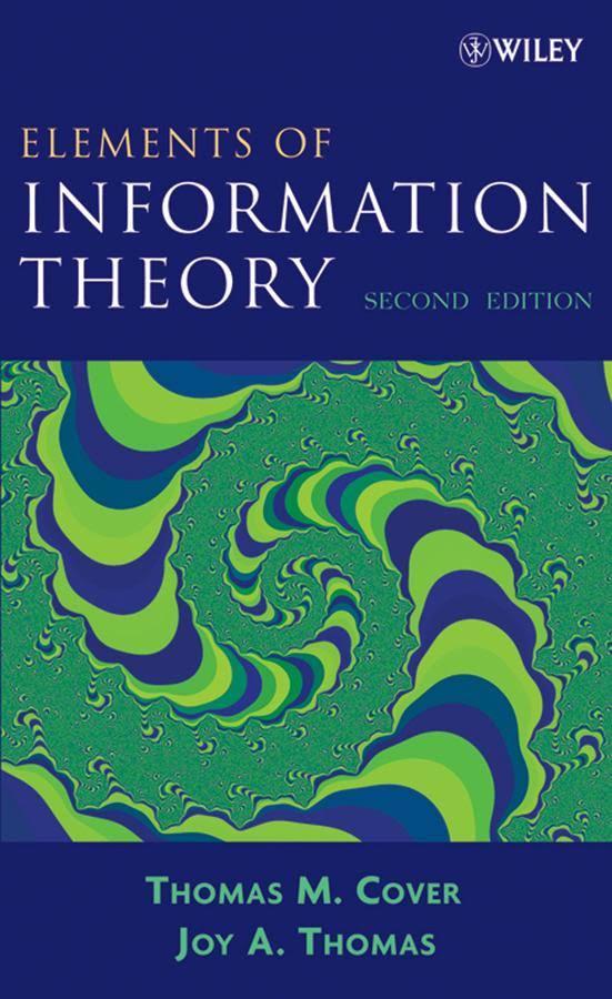 کتاب و حل المسائل درس تئوری اطلاعات نوشته Thomas M.