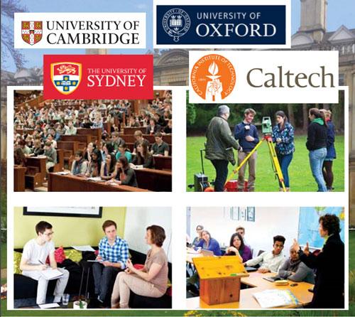کاتالوگ و اطلاعات 14 دانشگاه بزرگ جهان