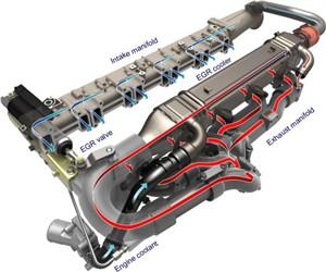 بررسی و نقش EGR در انواع موتورها