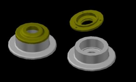 آموزش اتوکد سه بعدی ( ساخت احجام ) در یک جلسه
