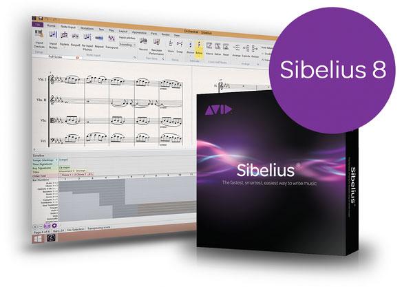 دانلود Avid Sibelius - نرم افزار ساخت نت موسیقی برای مک(جدیدترین نسخه)+لایسنس اصلی