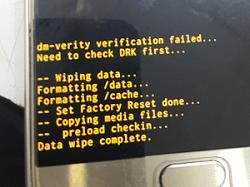 حل مشکل dm-verity verification failed در اندروید 5.1