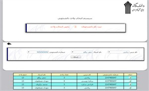 دانلود پروژه دانشجویی php سایت انتخاب واحد با کنترل پنل