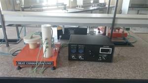گزارشکار آزمایش تعیین ضریب هدایت حرارتی جامدات