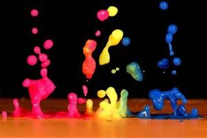 کارآموزی در کارخانه رنگ سازی