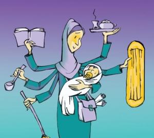 بررسی رضایت زناشویی خانوادههای زنان شاغل و خانه دار