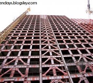 گزارش کارآموزی ساختمان فلزي