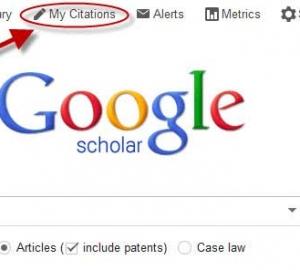 راهنمای ثبت مقاله در گوگل اسکولار