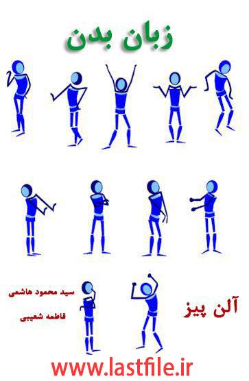 دانلود کتاب زبان بدن ، چگونه افکار دیگران را بخوانیم اثر آلن پیز