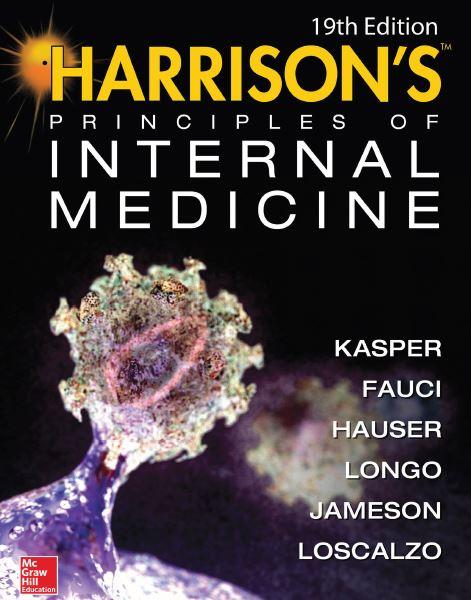 دانلود کتاب اصول پزشکی داخلی هاریسون ، ویرایش 19