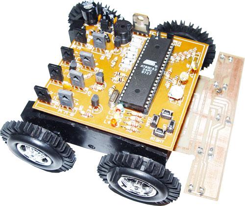 دانلود پروژه ساخت یک ربات مسیر یاب  ( word )