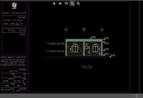 دانلود رایگان  پروژه متره و برآورد ساختمان (dwg)