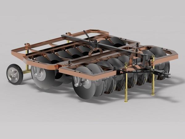 پروژه طراحی دیسک 16 پره افست در سالیدورک