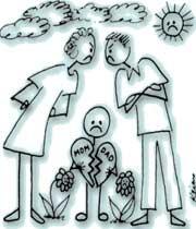 ارتباط  بین بزهکاری فرزندان و طلاق والدین