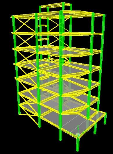پروژه 7 سقف اسکلت فولادی دارای تائیدیه نظام مهندسی تهران