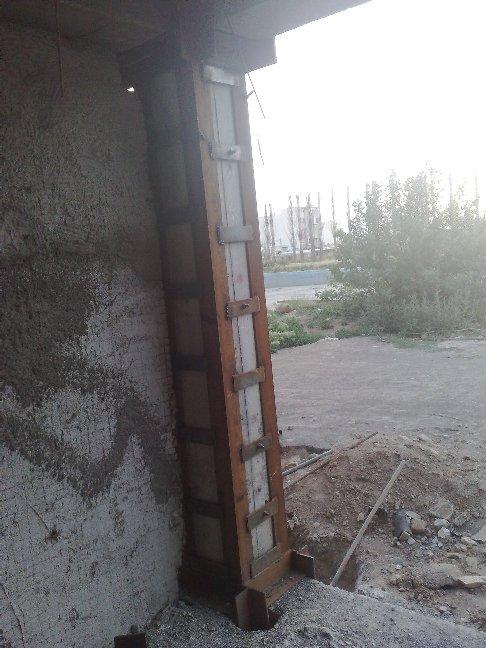 دتایل اجرایی ژاکت فلزی (مقاوم سازی ستون بتنی) اتوکد dwg