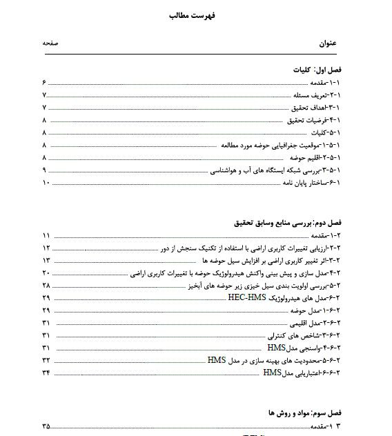 بررسی اثر تغییر کاربری اراضی بر هیدروگراف سیل رودخانه زاینده رود در محدوده شهر اصفهان
