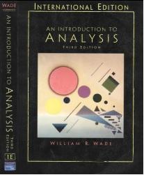 آنالیز ریاضی -ویلیام وید