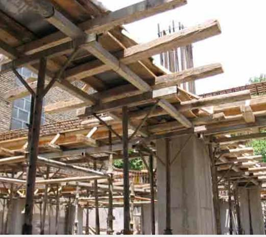 قالب های چوبی و فلزی
