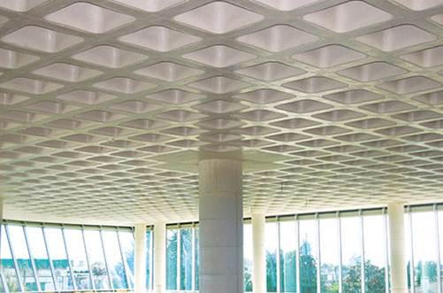 معماری پایدار و سقف وافل