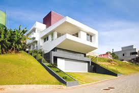 طراحی مجتمع مسکونی روی شیب