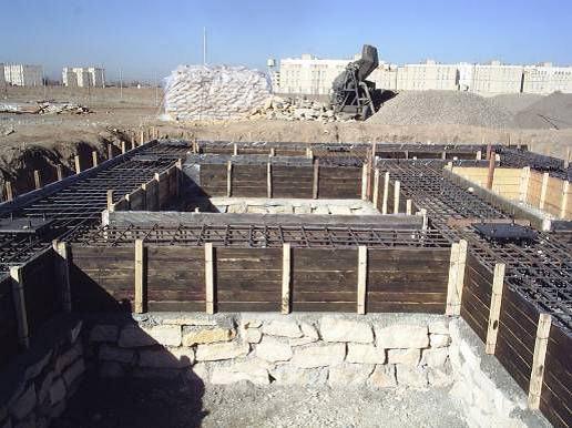 مراحل ساخت يك ساختمان بتني