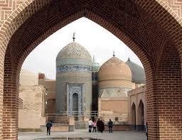 معماری بنای بقعه شیخ صفی