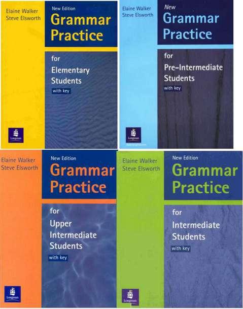 مجموعه کتاب های 4 سطحی Longman Grammar Practice