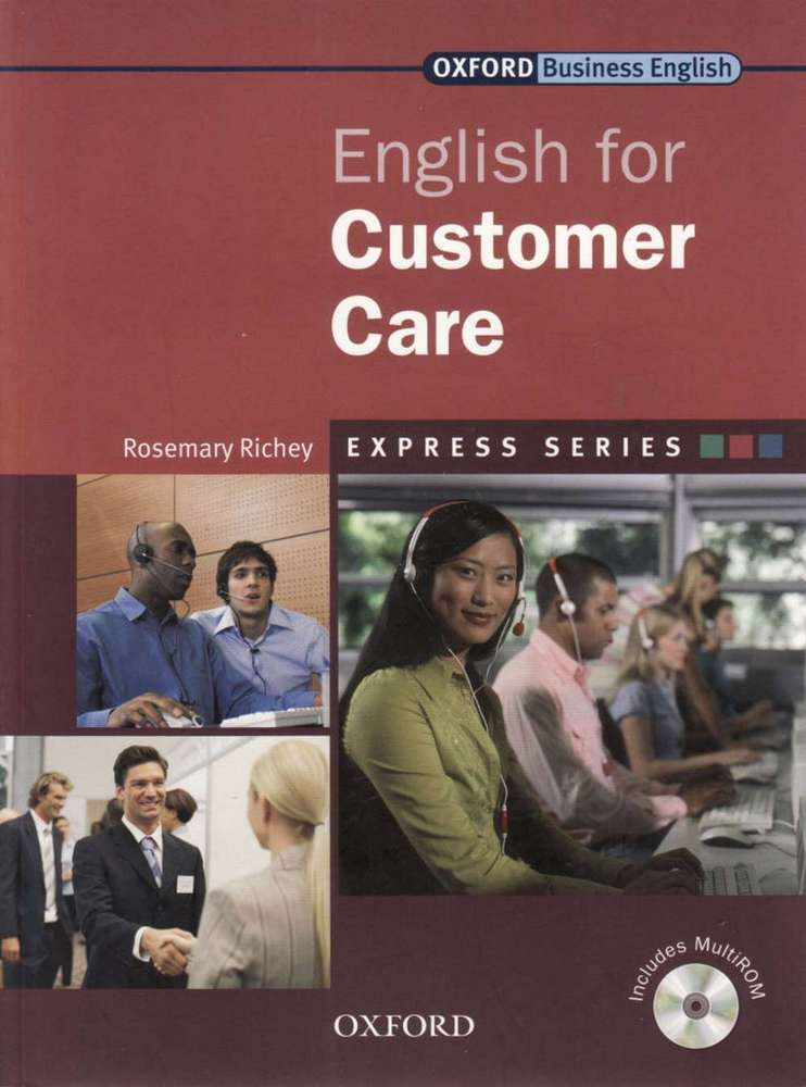 کتاب Oxford English for Customer Care به همراه فایل های صوتی کتاب