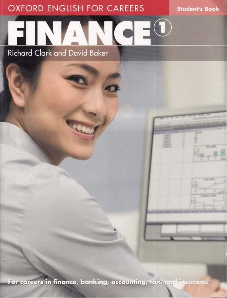 کتاب Oxford English for Finance 1 به همراه کتاب معلم و فایل های صوتی کتاب