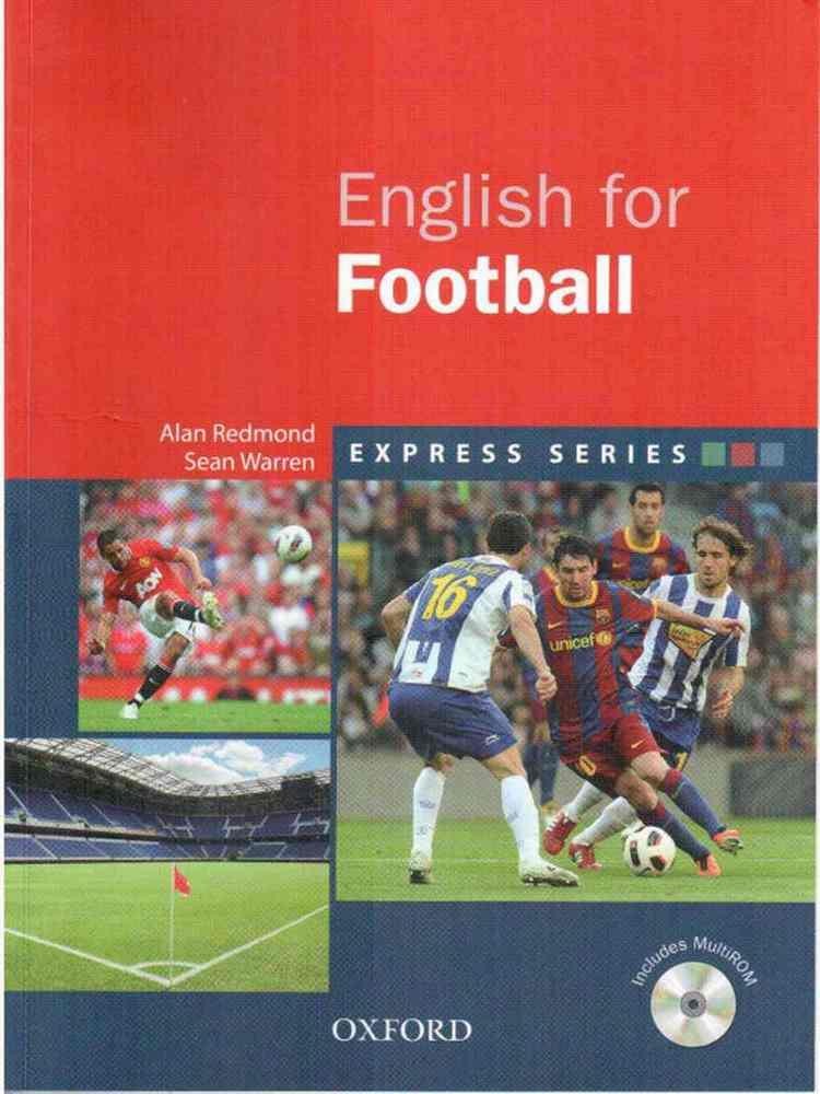 کتاب Oxford English for Football به همراه فایل های صوتی کتاب