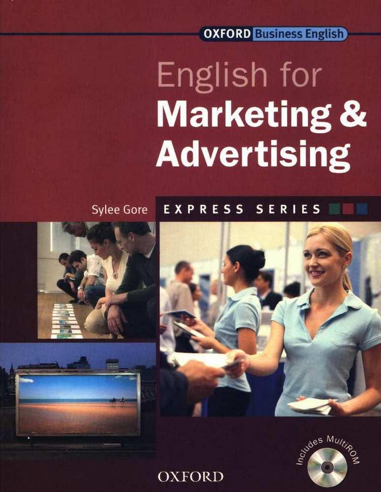 کتاب Oxford English for Marketing and Advertising به همراه فایل های صوتی کتاب