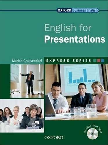 کتاب Oxford English for Presentations به همراه...فایل های صوتی کتاب