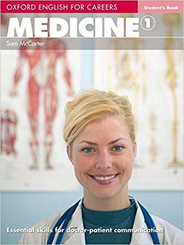 کتاب Oxford English for Medicine...1 به همراه کتاب معلم و فایل های صوتی کتاب