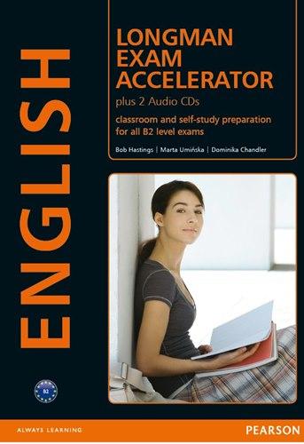 کتاب Longman Exam Accelerator به همراه فایل های صوتی کتاب و پاسخنامه کتاب