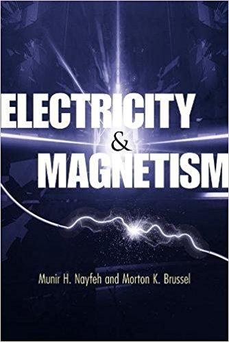 حل تمرین کتاب الکتریسیته و مغناطیس Nayfeh و Brussel