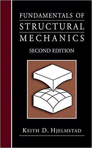 حل تمرین کتاب مبانی مکانیک سازه Hjelmstad – ویرایش دوم
