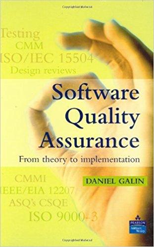 حل تمرین کتاب تضمین کیفیت نرم افزار Galin - ویرایش اول