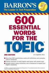 کتاب 600 Essential Words for the TOEIC به همراه فایل فایل های صوتی کتاب - ویرایش سوم