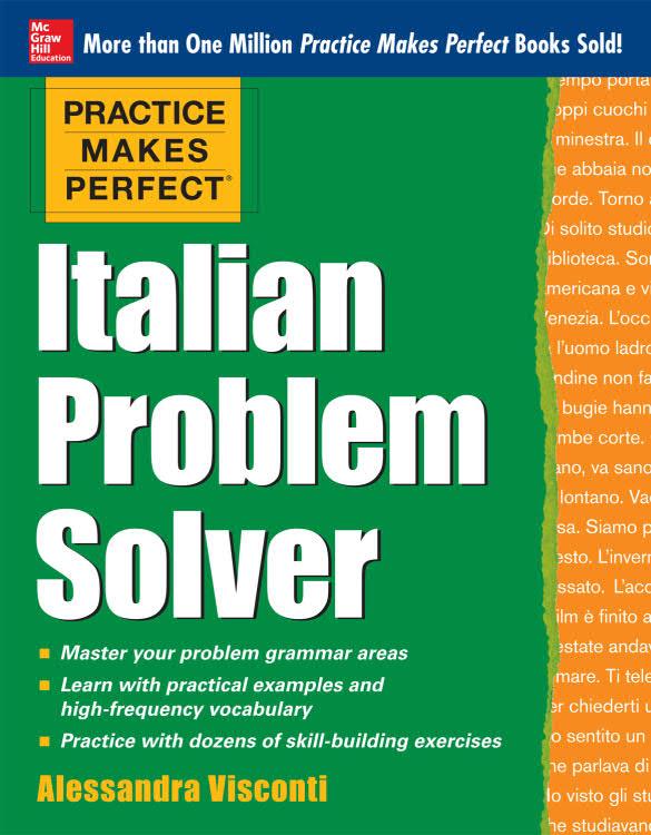 کتاب آموزش زبان ایتالیایی Italian Problem Solver