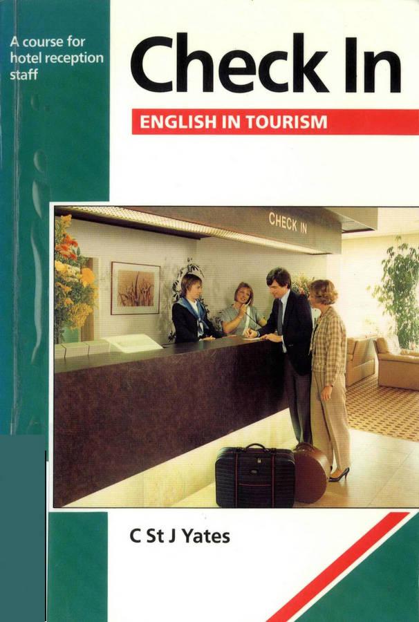 کتاب Check in English in Tourism به همراه فایل های صوتی کتاب